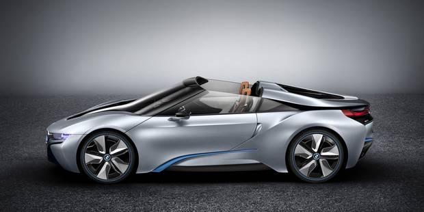 La BMW i8 roadster? La voilà! - La DH