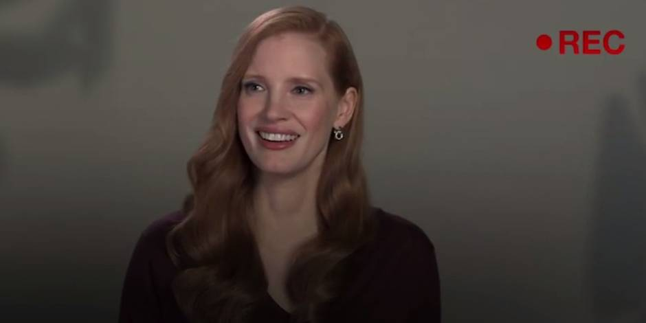 Jessica Chastain dénonce les castings sexistes d'Hollywood (VIDEO)