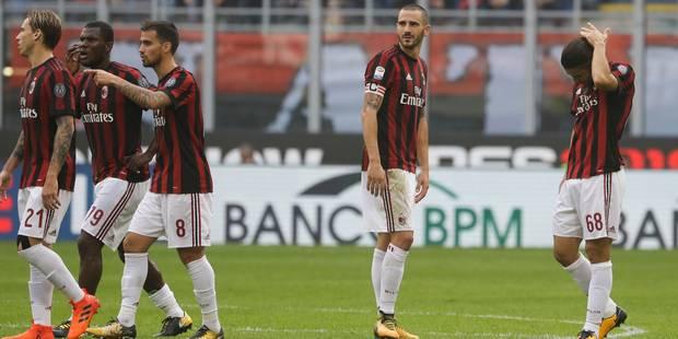 6e2db0ec7b13 Le Milan AC bientôt privé de coupes européennes ? - La DH