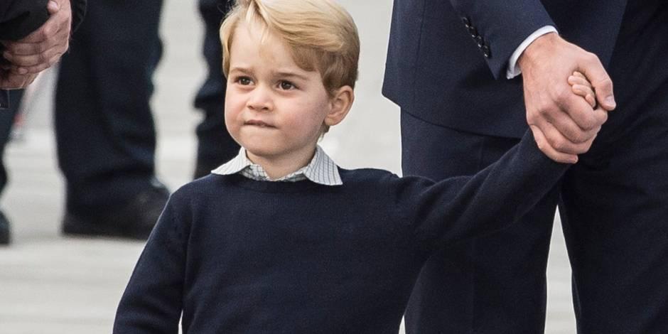 Déjà une star, le prince George aura son propre personnage de dessin animé