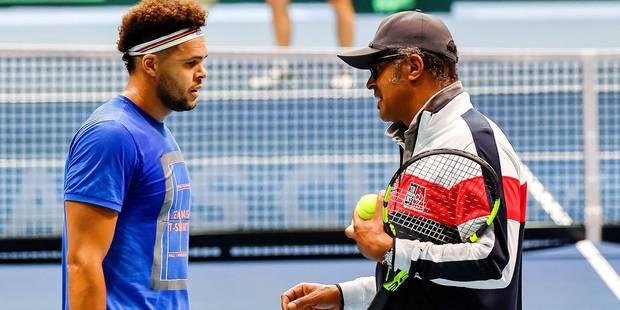 Finale de la Coupe Davis: Tsonga veut vaincre le signe indien, Noah entretient le mystère - La DH