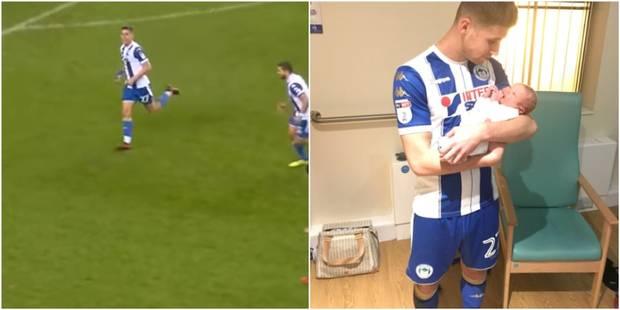 Un joueur marque deux buts puis fonce en plein match assister à la naissance de son enfant (VIDEO) - La DH