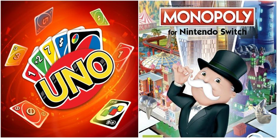 Uno et Monopoly sur Nintendo Switch: le plaisir de jouer n'importe où !