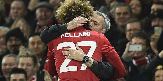 Mourinho craint (toujours) un départ de Marouane Fellaini de ManU en fin de saison - La DH
