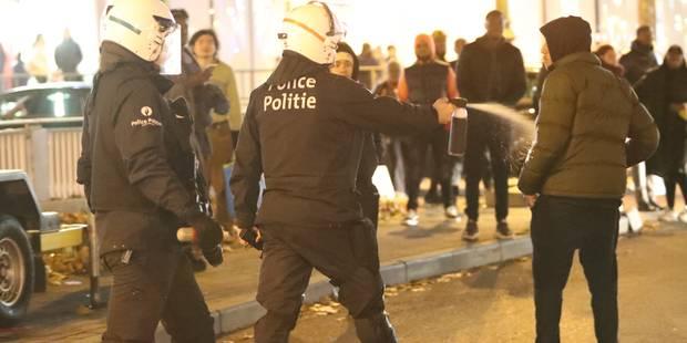 Débordements avenue Louise: le mineur qui a jeté un projectile sur un véhicule de police avait déjà été arrêté lors des ...