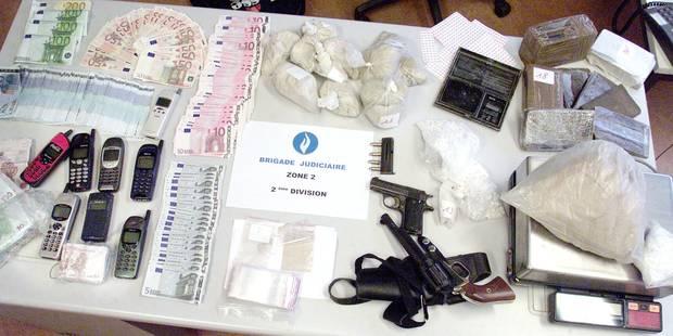 Zone Midi : Le trafic de drogue a explosé en quatre ans - La DH