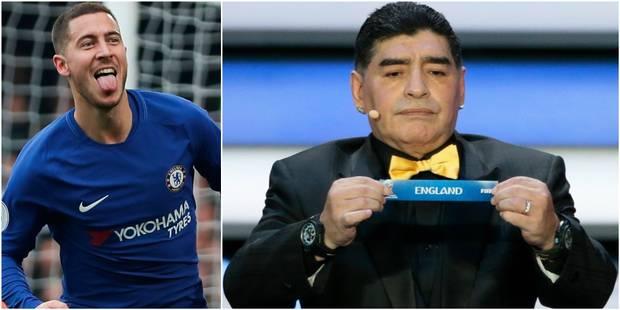 """Hazard blague sur le tirage des Diables rouges au Mondial: """"L'Angleterre? Ça sera facile"""" - La DH"""