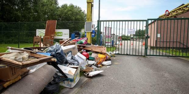 Province : les parcs à conteneurs fermés ce mercredi pour cause de grève - La DH