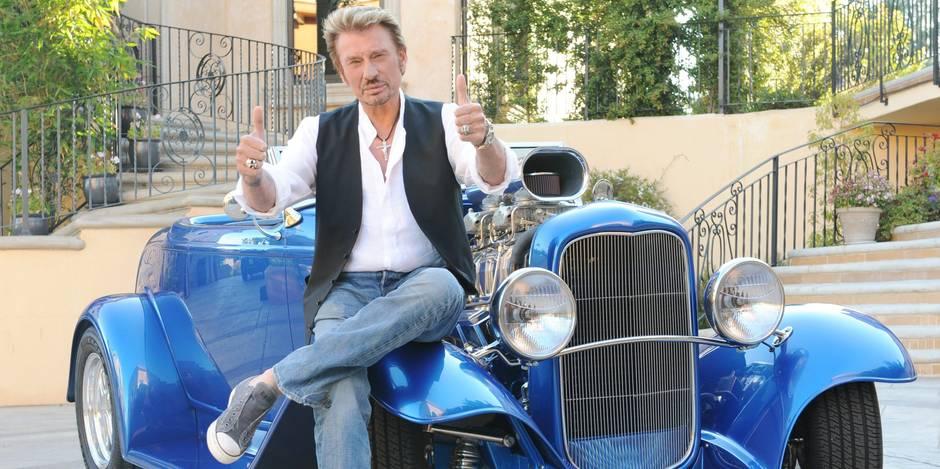 Johnny Hallyday, une star discrète qui dévorait la vie à Los Angeles