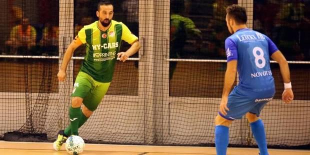 """Roselies-Charleroi (futsal): """"Mes joueurs doivent aller au bout d'eux-mêmes"""" - La DH"""