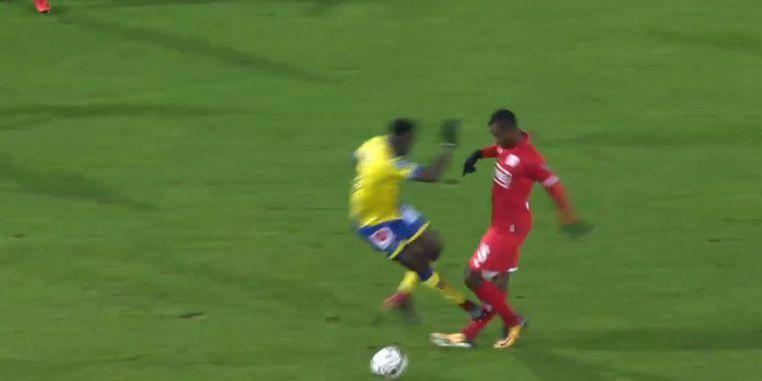 "Agbo: ""J'ai cru que ma jambe était cassée"""