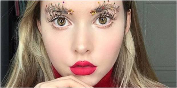 Vu sur Instagram : les sourcils sapin de Noël - La DH