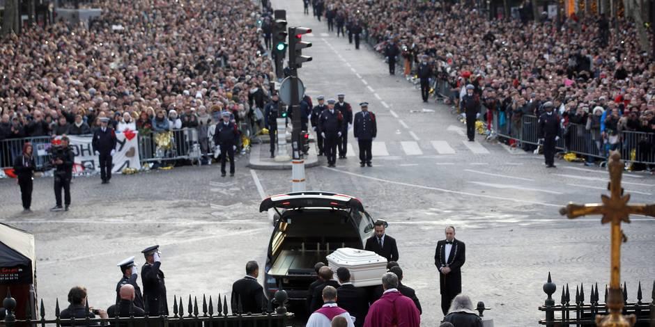 Funérailles de Johnny Hallyday: Ces trois fans belges invités dans l'église