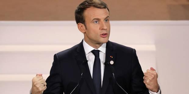 """""""One planet summit"""" à Paris - """"On est en train de perdre la bataille"""" dit Macron - La DH"""