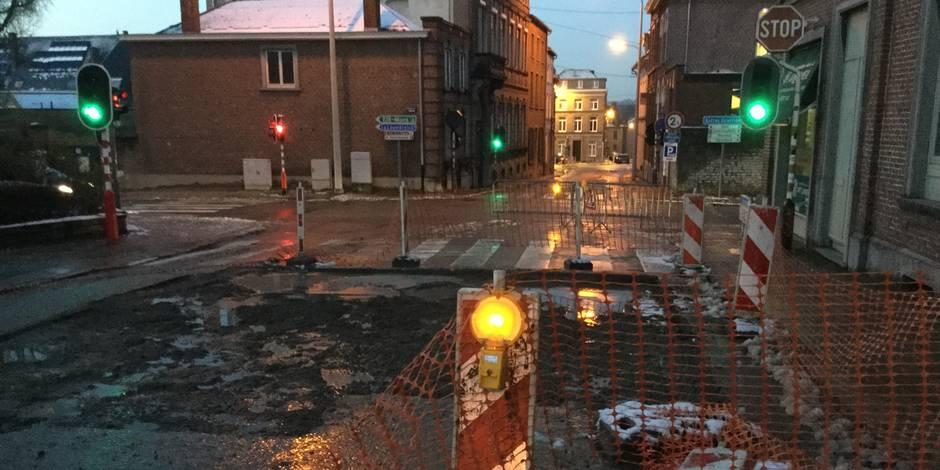 Nivelles : la nationale 586 fermée à la circulation