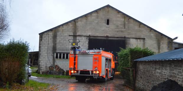 Incendie dans un atelier à Ellignies-Sainte-Anne - La DH
