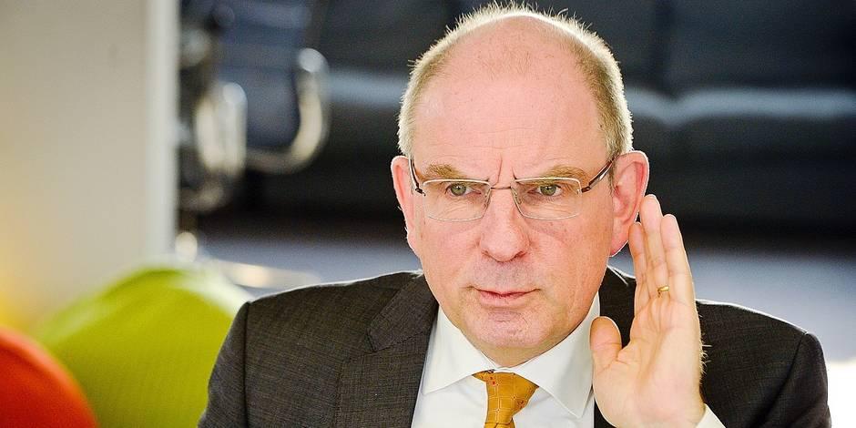Bruxelles - Koen Geens: Ministre de la justice en interview pour La Libre Belgique et La DH