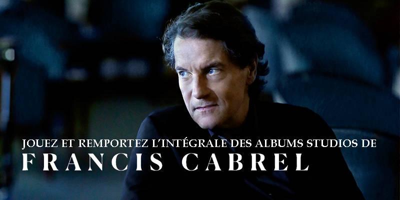 A remporter grâce à la DH: l'intégrale des albums de Francis Cabrel
