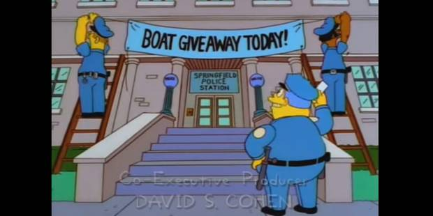 Quand la police anglaise s'inspire des Simpson pour arrêter des criminels (VIDEO) - La DH