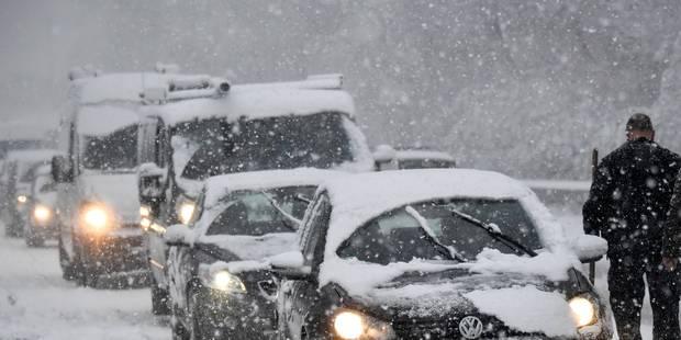 D'importants embarras de circulation au sud du pays en raison de chutes de neige - La DH