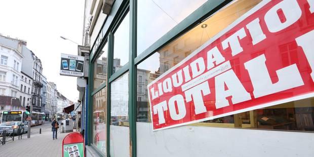 Forte augmentation du nombre de faillites en Belgique, particulièrement à Bruxelles - La DH