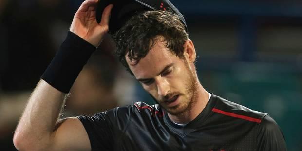 Andy Murray forfait pour l'Open d'Australie - La DH