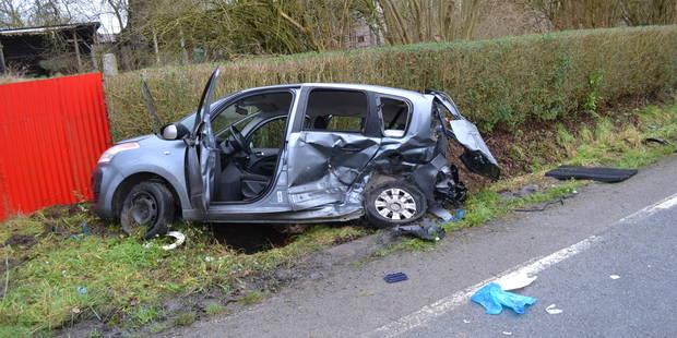 Une mère de famille entre la vie et la mort suite à un accident à Ogy - La DH