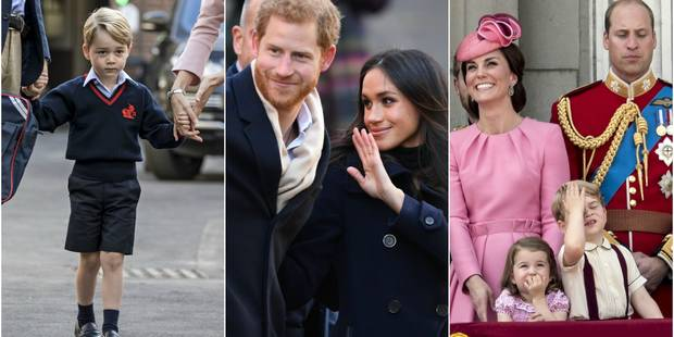 La famille royale britannique partage sa rétro 2017 - La DH