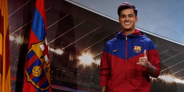 """FC Barcelone: Coutinho savoure """"un rêve devenu réalité"""" - La DH"""