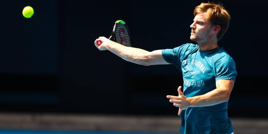 Open d'Australie: Goffin défiera un qualifié au premier tour, avant Federer en quarts?