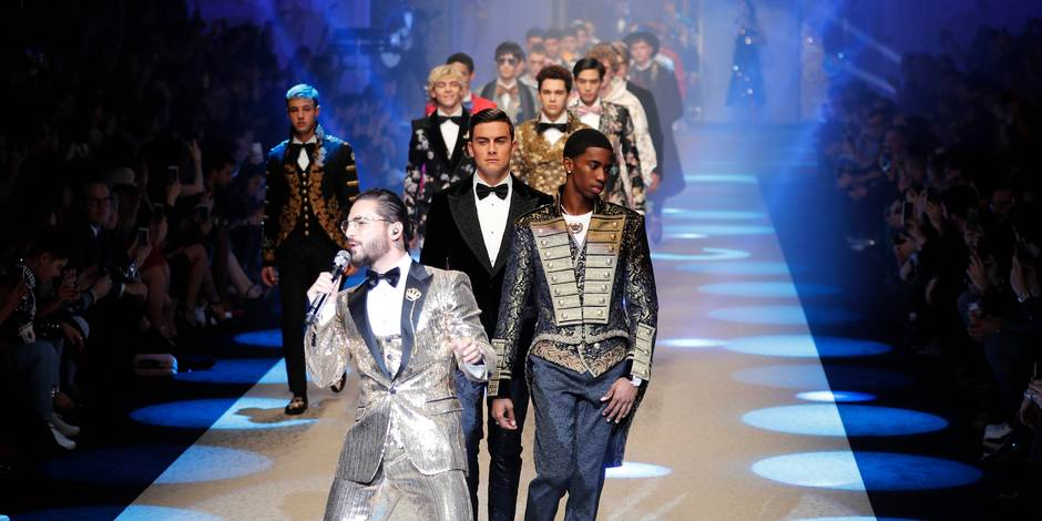 Dolce & Gabbana offre un show royal à la Fashion week de Milan