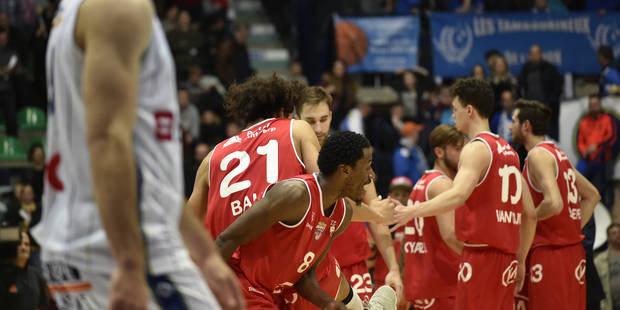 Euromillions League: Scott Thomas était en feu; Mons cède sa deuxième place à Anvers - La DH