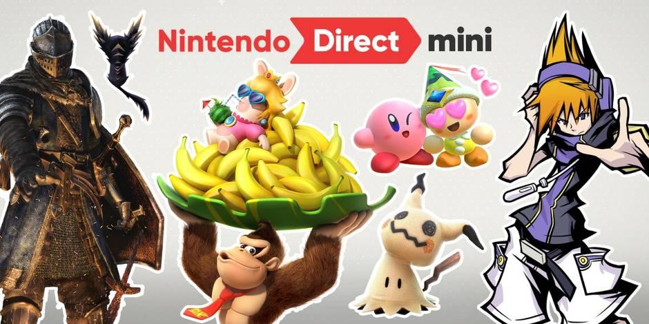 Une avalanche de jeux Nintendo