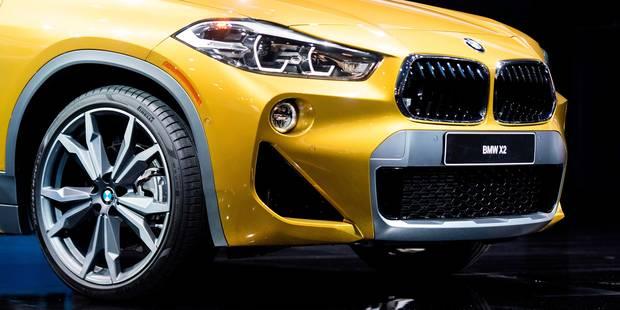 BMW présente son X2 en exclusivité à Bruxelles (VIDÉOS) - La DH