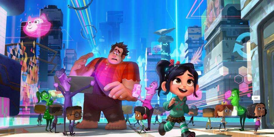 Disney: les mondes de Ralph 2 va aussi casser Internet