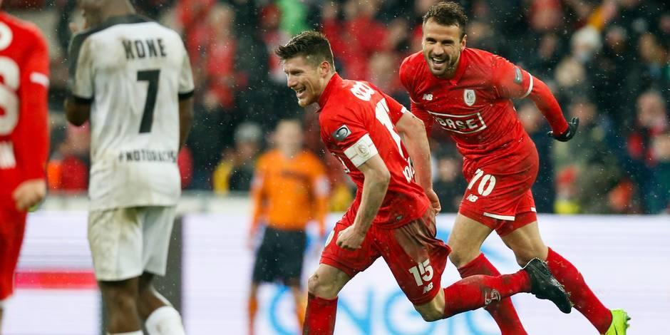 Pocognoli sauve le Standard à la 92e face à Eupen (3-2)