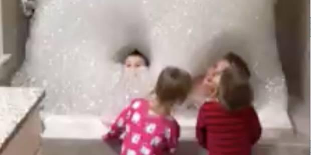 Il n'aura jamais été si facile de faire prendre un bain à des enfants! (VIDEO) - La DH