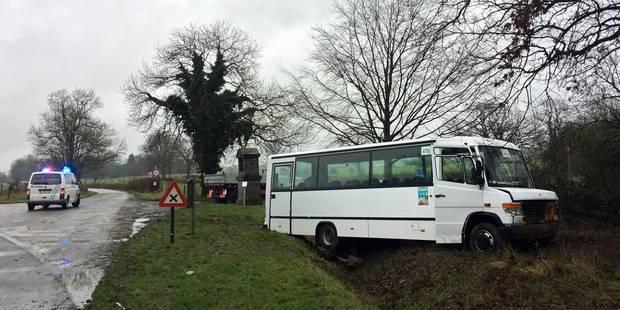 Accident de bus scolaire à Eupen: 9 des 10 élèves hospitalisés ont pu regagner leur domicile - La DH