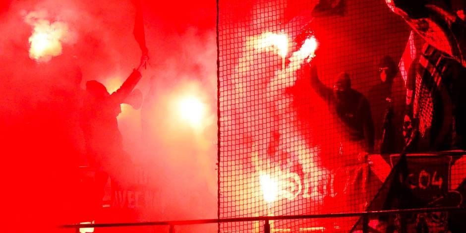 Les Storm Ultras de Charleroi suspendent leurs activités