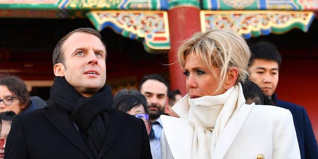 """Emmanuel Macron encense son épouse: """"""""Elle c'est moi et moi c'est elle"""" - La DH"""