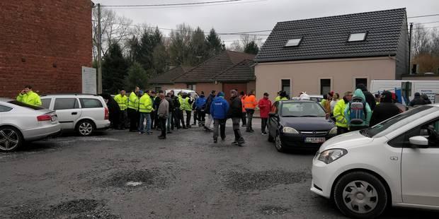 Fin de grève aux Ateliers de Tertre - La DH