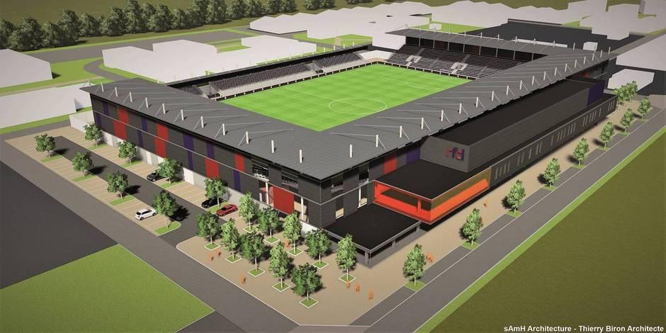 Le RFC Liège a fait un pas de géant pour son nouveau stade