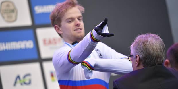 Mondial de cyclo-cross : deuxième médaille d'or pour la Belgique - La DH