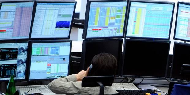 Paris, Londres, Bruxelles... Les bourses européennes plongent après les Etats-Unis et l'Asie - La DH