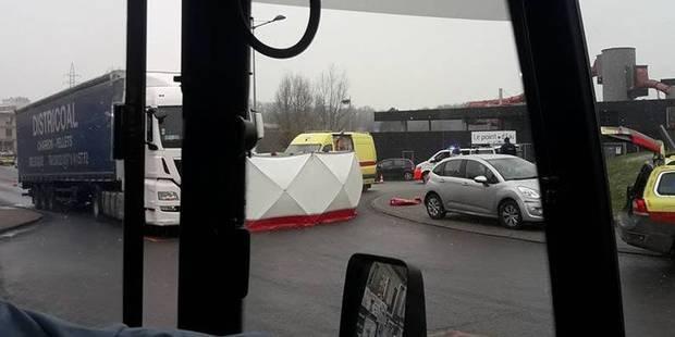 Une dame de 49 ans mortellement fauchée par un camion à La Louvière - La DH