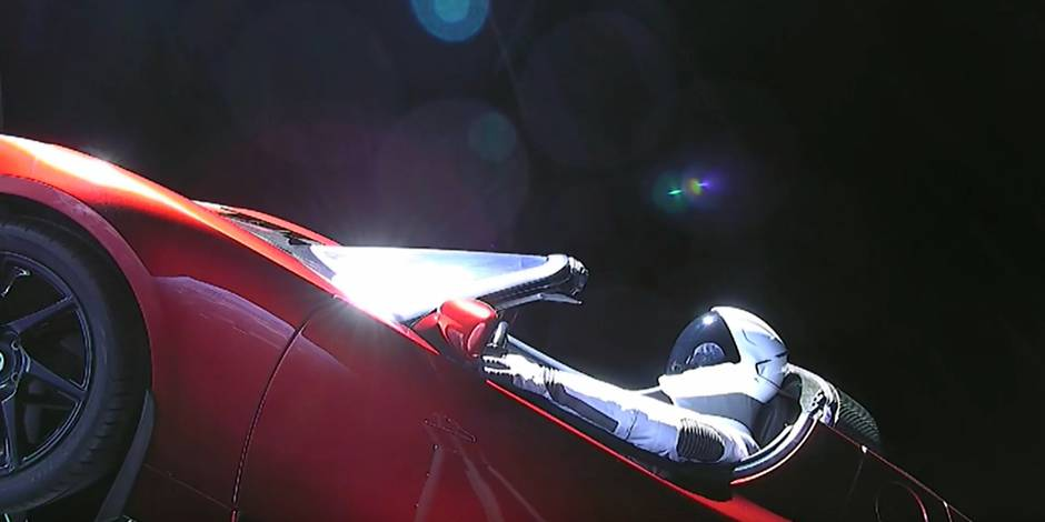 La Tesla d'Elon Musk va-t-elle polluer l'orbite terrestre?