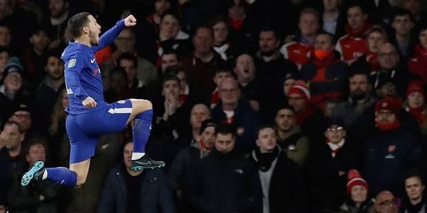 """Eden Hazard élu meilleur joueur belge à l'étranger: """"J'aurais aussi voté pour moi"""" - La DH"""