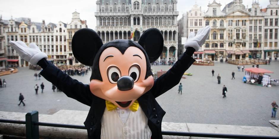 Reporters tente de pénétrer ce soir dans les coulisses de Disney On Ice