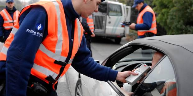 Campagne BOB à Courcelles: moins de contrôles positifs et moins d'accidents - La DH