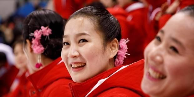 Les JO charmés par les pom pom girls nord-coréennes